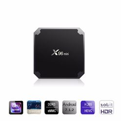NEW X96 MINI 4K ANDROID TV BOX MULTIMEDIA GATEWAY
