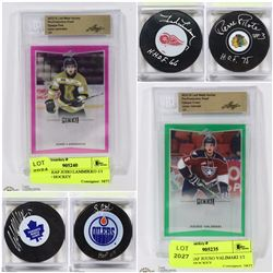 FEATURED ITEMS: HOCKEY MEMORABILIA & COLLECTIBLES