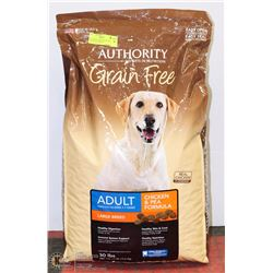AUTHORITY DOG FOOD GRAIN FREE 30LBS LARGE BREED