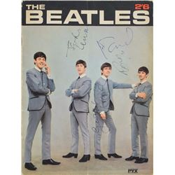 Beatles Signed 1963 PYX Magazine