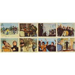 Beatles Set of (8) Help! Lobby Cards