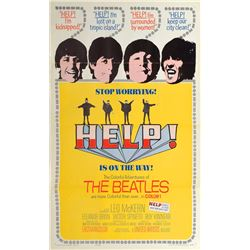 Beatles 'Help' One-Sheet Poster