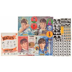 Beatles Large Collection of Ephemera