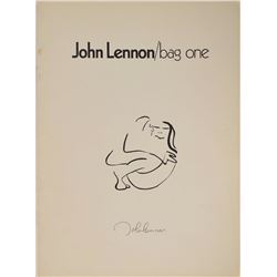 John Lennon 'Bag One' Exhibition Catalogue