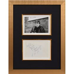 John Lennon 1962 Signed Candid Photograph