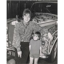John and Julian Lennon Vintage Photographs