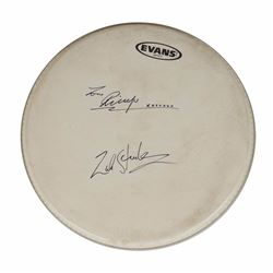Ringo Starr and Zak Starkey Signed Drumhead