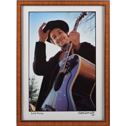 Bob Dylan Oversized Print by Elliott Landy