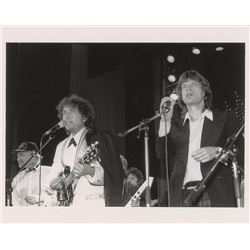 Bob Dylan and Mick Jagger Original Vintage Photograph