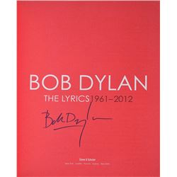 Bob Dylan Signed Book
