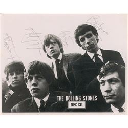 Rolling Stones Signed Promo Photograph