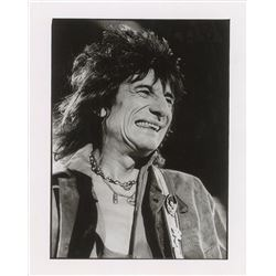 Ronnie Wood Oversized Original Photograph