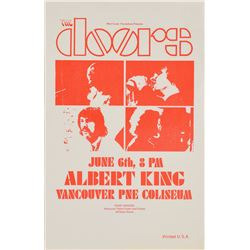 The Doors 1970 Vancouver PNE Coliseum Handbill