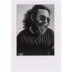 Jerry Garcia Oversized Original Vintage Photograph