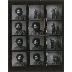 Jerry Garcia Photographic Contact Sheet
