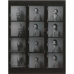 Mickey Hart Photographic Contact Sheet