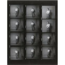 Bob Weir Photographic Contact Sheet