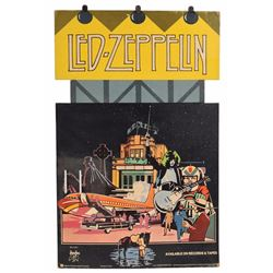 Led Zeppelin 'The Song Remains the Same' Store Display