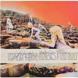 Led Zeppelin Signed 'Houses of the Holy' Album Obi Band
