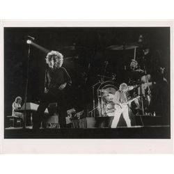 Led Zeppelin Oversized Original Photograph