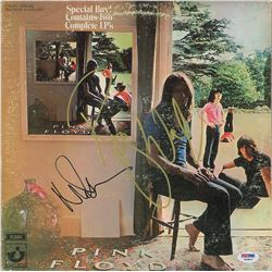 Roger Waters and Nick Mason Signed Album