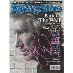 Roger Waters Signed Magazine
