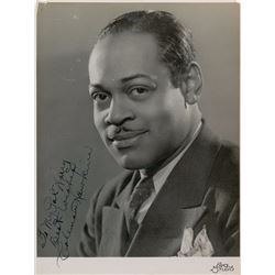 Coleman Hawkins Signed Photograph