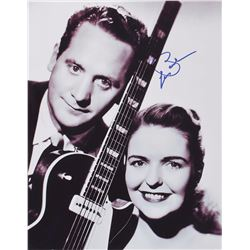Les Paul Pair of Oversized Signed Photographs