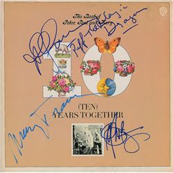 Peter, Paul & Mary Signed Album