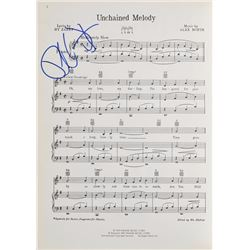 Phil Spector Signed Sheet Music