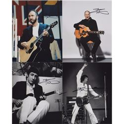 The Who: Pete Townshend Signed Photos
