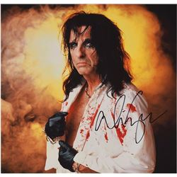Alice Cooper Set of (4) Signed Items