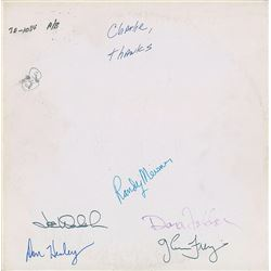 The Eagles Signed Test Pressing