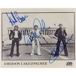 Emerson, Lake, and Palmer Signed Photograph