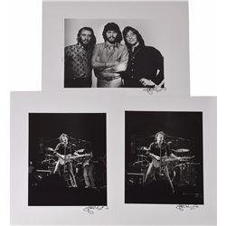 John Rowlands Collection of Lithographs: Springsteen, Bee Gees, Guess Who