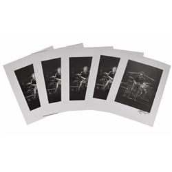 Bruce Springsteen: Set of (5) John Rowlands Oversized Photos