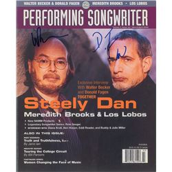 Steely Dan Signed Magazine Cover