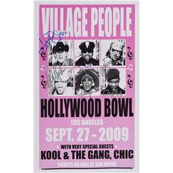 Village People and Kool and the Gang Set of (3) Signed Items