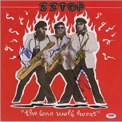 ZZ Top Signed Album