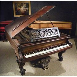 Brad Delp's 1873 Chickering Concert Grand Piano