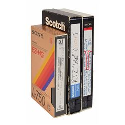 Brad Delp's Group of (3) Video Tapes