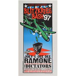 Joey Ramone '4th of July Blitzkrieg Bash' Poster