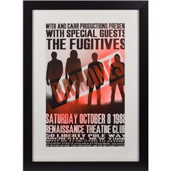Ramones and The Fugitives Concert Poster