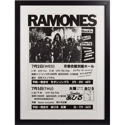 Ramones Japanese 'Rock'n Roll Party' Poster