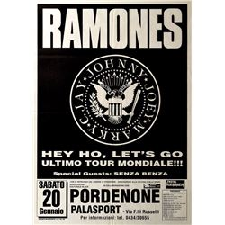 Ramones Palace Port Italy Poster