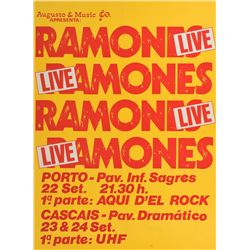 Ramones Portugal Poster