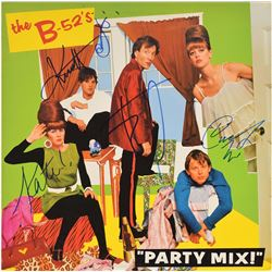 The B-52's Signed Albums
