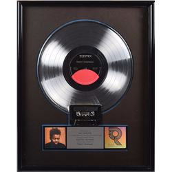 Tracy Chapman Self-Titled Platinum Sales Award