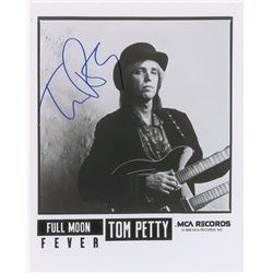 Tom Petty Signed Photograph