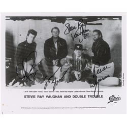 Stevie Ray Vaughan and Double Trouble Signed Photograph